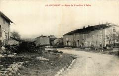 Alaincourt - Route de Vauvillers a Selles - Alaincourt