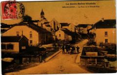 La Haute-Saone illustrée-Melincourt - Le Pont et la Grande-Rue - Melincourt