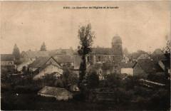 Rioz - Le Quartier de l'Eglise et la Lavoir - Rioz