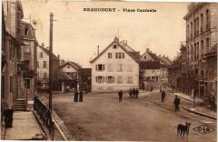 Beaucourt - Place Centrale - Beaucourt
