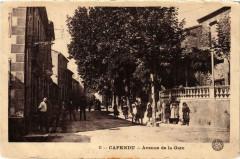 Capendu Avenue de la Gare - Capendu