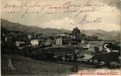 Vallée de l'Aude Magrie pres Limoux Vue générale - Magrie