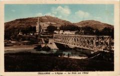 Chalabre Eglise - Le Pont sur l'Hers - Chalabre