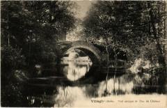 Villegly Pont antique du Parc du Chateau France - Villegly