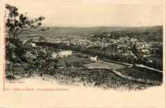 Vallée de l'Aude - Vue générale de Irimoux - Moux