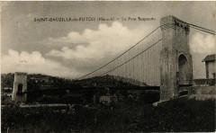 Saint-Bauzille-de-Putois (Hérault) - Le Pont Suspendu - Saint-Bauzille-de-Putois