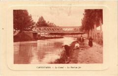 Capestang - Le Canal - Le Pont en fer - Capestang
