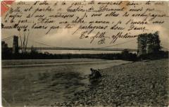 Canet - Le Pont suspendu - Canet