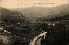 Saint-Gervais sur-Mare (Herault) -  Vue Panoramique - Saint-Gervais-sur-Mare
