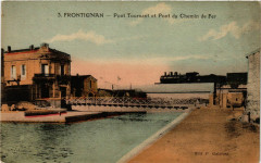 Frontignan - Pont Tournant et Pont du Chemin de Fer - Frontignan