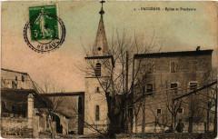 Faugeres - Eglise et Presbytere - Faugères