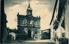Montbazin Place de la Mairie - Montbazin