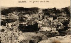 Moureze - Vue generale prise a l'Est - Mourèze