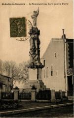 Saint-Andre-de-Sangonis - Le Monument aux Moris pour la Patrie - Saint-André-de-Sangonis