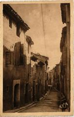 Gignac (Herault) - Rue Saint-Michel - Gignac