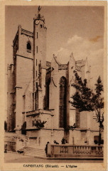 Capestang (Herault) - L'Eglise - Capestang