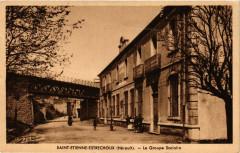 Saint-Etienne-Estrechoux (Herault) - Le Groupe Scolaire - Saint-Étienne-Estréchoux