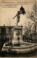 Paulhan (Herault) - Monument erige en 1911 A la Gloire des Armees - Paulhan