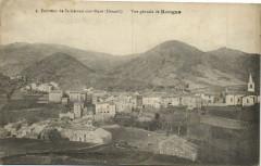 Environs de Saint-Gervais-sur-Mare (Hérault) Vue générale de Rongas - Saint-Gervais-sur-Mare