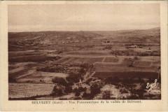 Belvezet - Vue Panoramique de la vallée de Belvezet - Belvézet