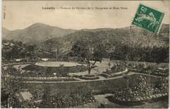 Lasalle - Parterre du Chateau de le Nougarede Mont Brion - Lasalle