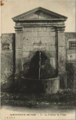 Saint-Hippolyte du Fort - La Fontaine du Temple - Saint-Hippolyte-du-Fort