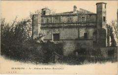 Remoulins - Chateau de Rabasse (Renaissance) - Remoulins
