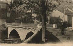 Saint-Hippolyte du Fort - Entrée du la Ville et Pont de Vidourle - Saint-Hippolyte-du-Fort