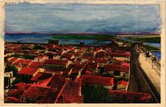 Languedoc-R. Gard Aigues-Mortes Panorama - Aigues-Mortes