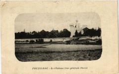 Pouzilhac - Le Chateau (vue générale Ouest) - Pouzilhac