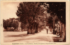 Roquemaure - La Pousteric-Route d'Avignon a Bagnols-sur-Ceze - Roquemaure