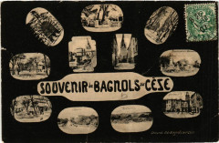 Souvenir de Bagnols-sur-Ceze - Bagnols-sur-Cèze