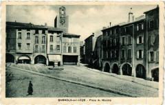 Bagnols-sur-Ceze - Place du Marché - Bagnols-sur-Cèze