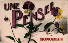 Une Pensée de Monoblet - Monoblet