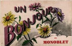 Un Bonjour de Monoblet - Monoblet