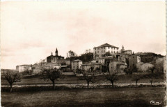 Barjac - Vue générale - Barjac