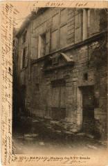 Barjac - Maison du Xvi Siécle - Barjac