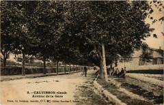 Calvisson - Avenue de la Gare - Calvisson