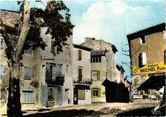 Barjac - La Tabac et la Rue - Barjac