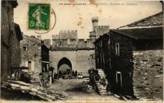 Le Gard Illustré - Pouzilhac - Entrée du Chateau - Pouzilhac