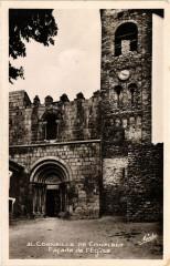Corneilla de Conflent - Facade de l'Eglise - Corneilla-de-Conflent
