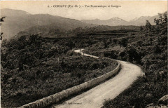 Corsavy - Vue Panoramique et Canigou - Corsavy