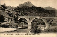 Ispagnac - Pont sur le Tarn et Rocher de la Brussiere - Ispagnac