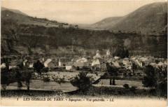 Ispagnac - Vue générale - Les Gorges du Tarn - Ispagnac
