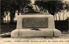 Saint-Chely-d'Apcher - Monument aux Morts - Saint-Chély-d'Apcher