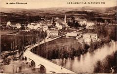 Le Malzieu-Ville - Le Pont et la Ville - Le Malzieu-Ville