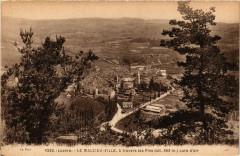 Le Malzieu-Ville - Vue - Le Malzieu-Ville a travers les Pins - Le Malzieu-Ville