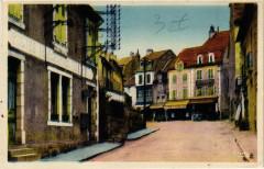 Saint-Chely-d'Apcher - Le Portail et Rue de la Poste - Saint-Chély-d'Apcher
