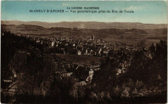 Saint-Chely-d'Apcher - Vue Panoramique prise du Roc de Tatula - Saint-Chély-d'Apcher