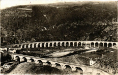 Chapeauroux - Vallée de l'Allier - Le Pont et le Viaduc - Auroux